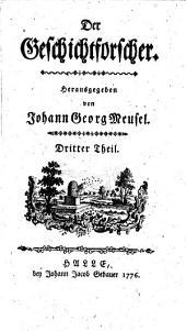 Der Geschichtforscher. Hrsg. von Johann Georg Meusel: Band 2