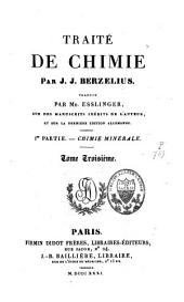 Traité de chimie: Volume3