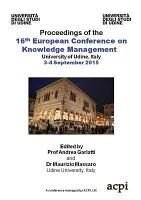 ECKM2015 16th European Conference on Knowledge Management PDF