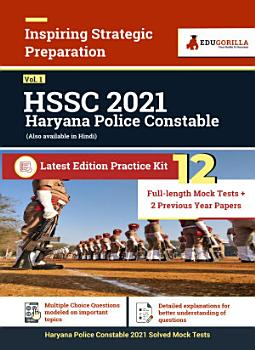 Haryana Police Constable  Vol  1  2021   12 Full length Mock Tests   2 Previous Year Paper PDF