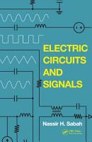 Electric Circuits and Signals PDF