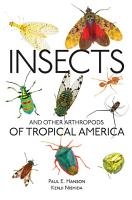 Insects and Other Arthropods of Tropical America PDF