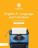 English A  Language and Literature for the IB Diploma Coursebook PDF