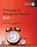 Principles of Managerial Finance  Brief  Global Edition PDF