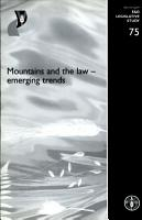Mountains and the Law PDF
