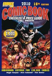 2010 Comic Book Checklist & Price Guide: Edition 16