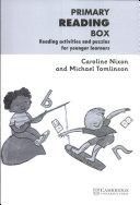 Primary Reading Box   Reading activities and puzzles for younger learners