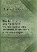 The treatise de spiritu sancto