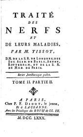 Traité des nerfs et de leurs maladies: Volume12