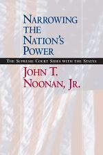 Narrowing the Nation's Power