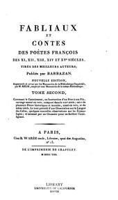 Fabliaux et contes des poètes françois des XI, XII, XIII, XIVe et XVe siècles...