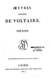Oeuvres complètes de Voltaire: Volume20