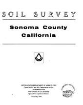 Soil survey, Sonoma County, California