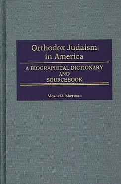 Orthodox Judaism in America PDF