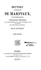 Oeuvres complètes de Marivaux