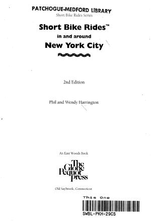 Short Bike Rides in and Around New York City PDF