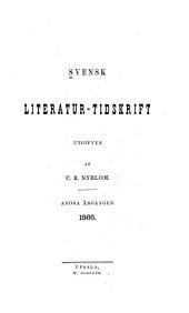 Svensk tidskrift för literatur, politik och ekonomi