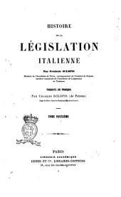 Histoire de la législation italienne par Frédéric Sclopis: Volume2