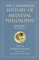 The Cambridge History of Medieval Philosophy PDF