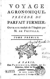 Voyage agronomique: Volume1