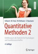 Quantitative Methoden 2 PDF