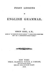 First Lessons in English Grammar ...