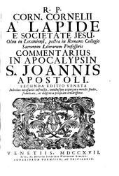 R.P. Corn. Cornelii à Lapide è Societate Jesu ... commentarius in Apocalypsin S. Joannis apostoli