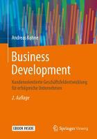 Business Development PDF