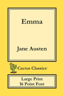 Emma (Cactus Classics Large Print)