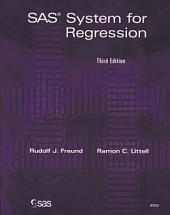 SAS System for Regression: Third Edition