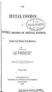 The Dental Cosmos: Volume 7