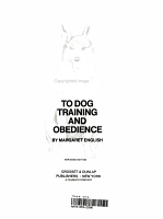 A Basic Guide to Dog Training and Obedience PDF