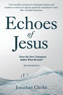 Echoes of Jesus Book