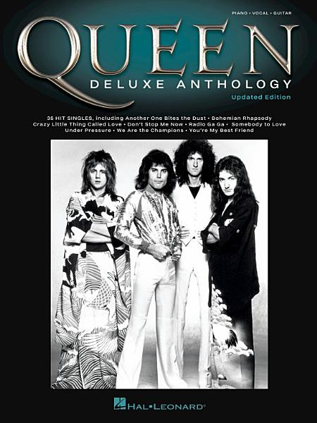 Download Queen   Deluxe Anthology Songbook Book