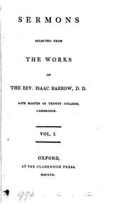 Sermons selected from the works of ... Isaac Barrow