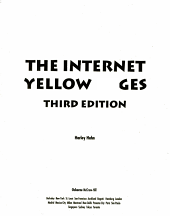 The Internet Yellow Pages PDF