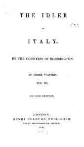 The Idler in Italy: Volume 3