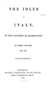 The Idler in Italy: Volume 3