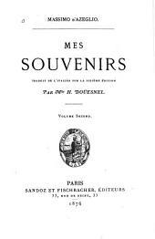 Mes souvenirs: Volume2
