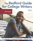 The Bedford Guide for College Writers with Reader   a Student s Companion for the Bedford Guide