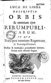 Descriptio orbis et omnium ejus rerumpublicarum