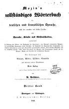 Dictionnaire complet des langues francaise et allemande compose d apres les meilleurs ouvrages anciens et nouveaux sur les sciences  les lettres et les arts     PDF