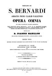 Opera omnia: sex tomis in quadruplici volumine comprehensa, Volume 4