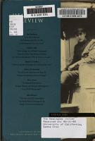 The Hemingway review PDF