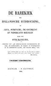 De Rarekiek der Hollandsche huishouding, of Java, Suriname, de Goudkust en Nederland bekeken door den Oud-bankier [H. L. Drucker]. ... Tweede vertooning