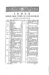 Acta conciliorum et epistolae decretales ac constitutiones summorum pontificum
