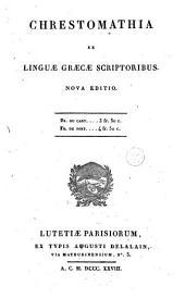 Chresthomathia ex linguae graecae scriptoribus