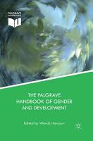The Palgrave Handbook of Gender and Development PDF