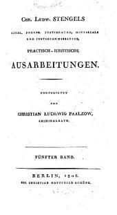 Beiträge zur juristischen Praxis: Band 3