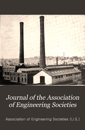 Journal of the Association of Engineering Societies: Volumes 48-49